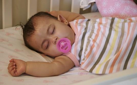 Mercy\'s baby finally asleep