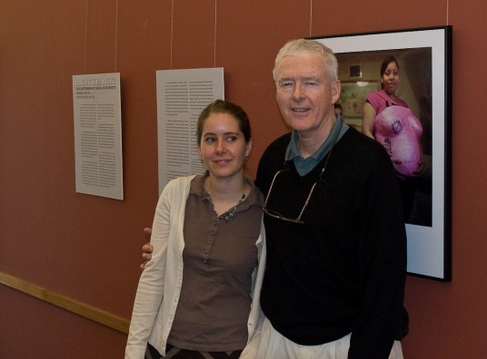 My all time favorite professor from Penn, Paul Hendrickson came down to Duke for the weekend and I was able to convince him and his wife Ceil to come see my exhibit. He will be a visiting professor at Duke this fall, and I have a good feeling that I might be able to collaborate with him on something amazing now that I have photography skills to compliment his incredible writing.
