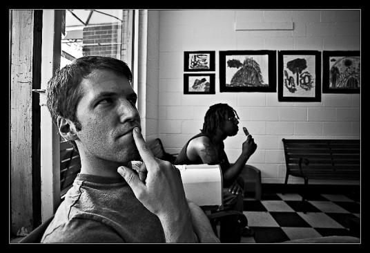 Eli and Darius at Locopops. Photography by Mark Schueler.