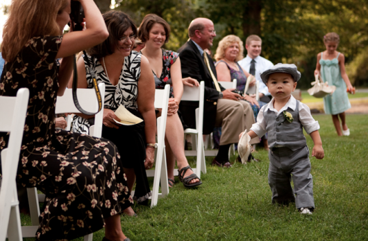 Isaac the littlest ring bearer